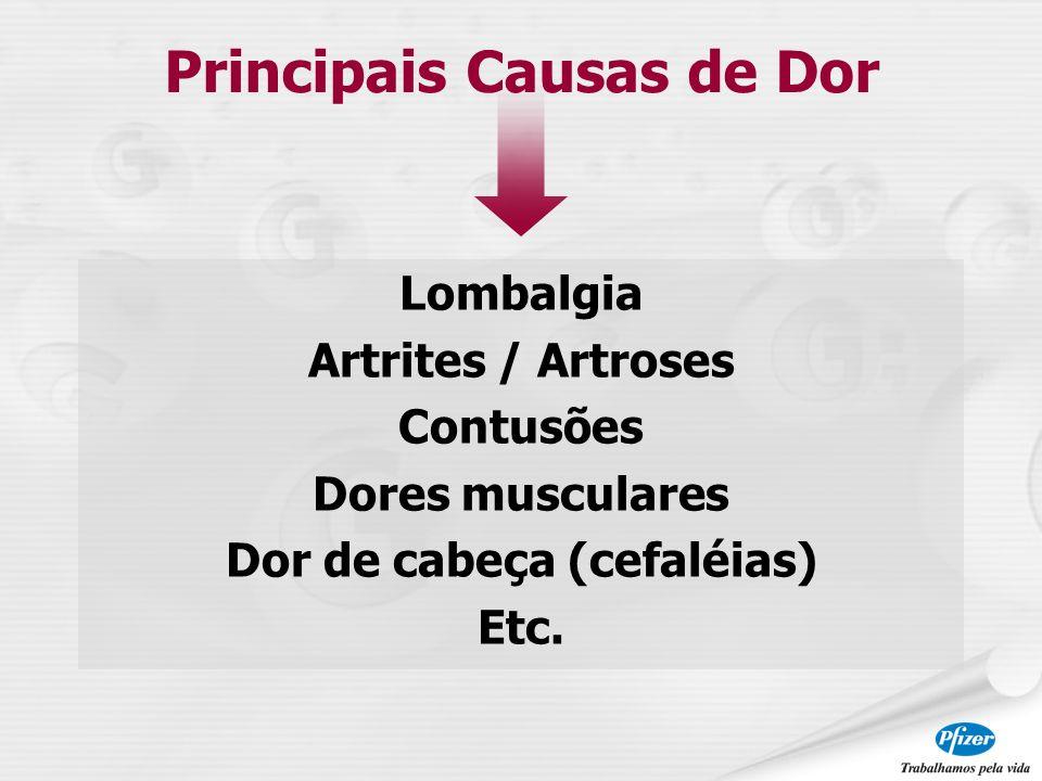 Principais Causas de Dor Dor de cabeça (cefaléias)