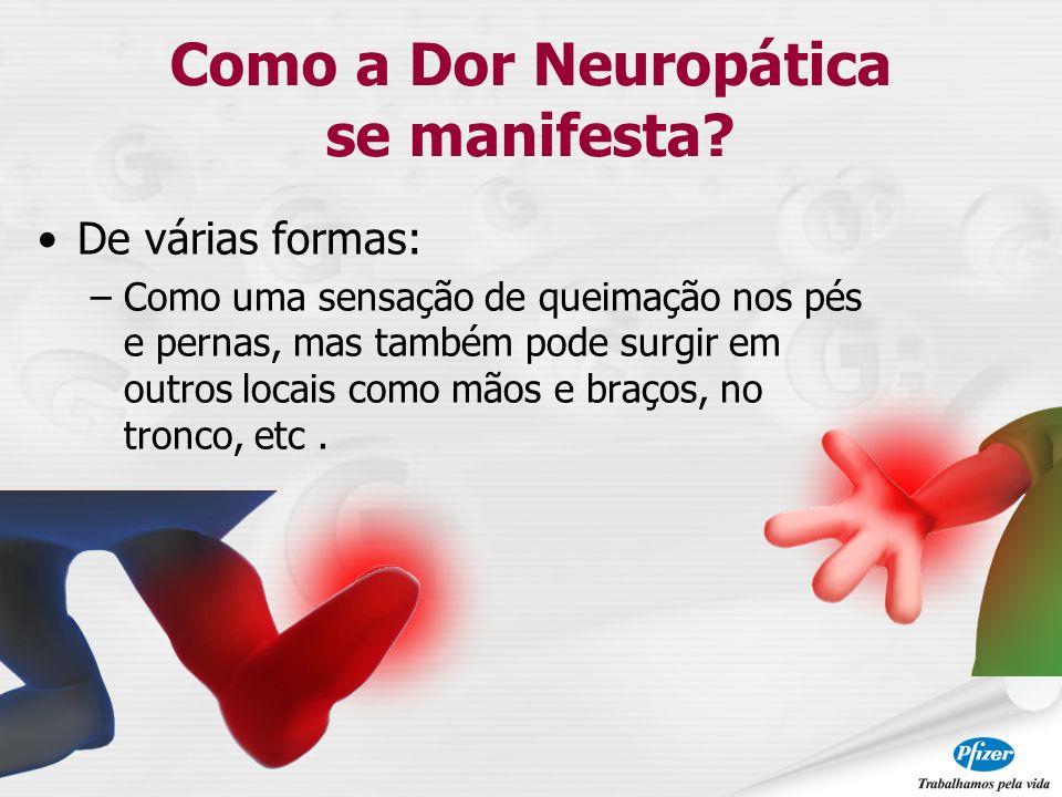 Como a Dor Neuropática se manifesta