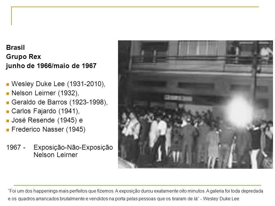 1967 - Exposição-Não-Exposição Nelson Leirner