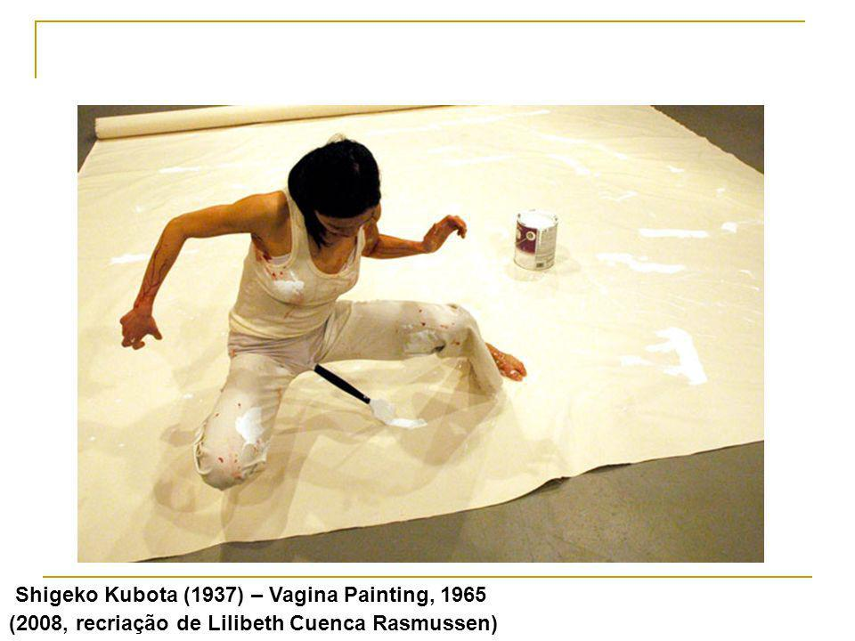 Shigeko Kubota (1937) – Vagina Painting, 1965