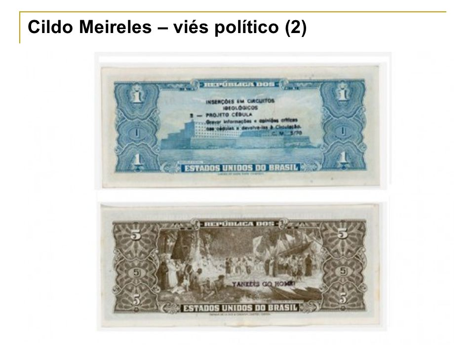 Cildo Meireles – viés político (2)
