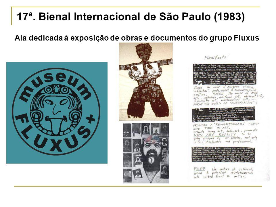 17ª. Bienal Internacional de São Paulo (1983)