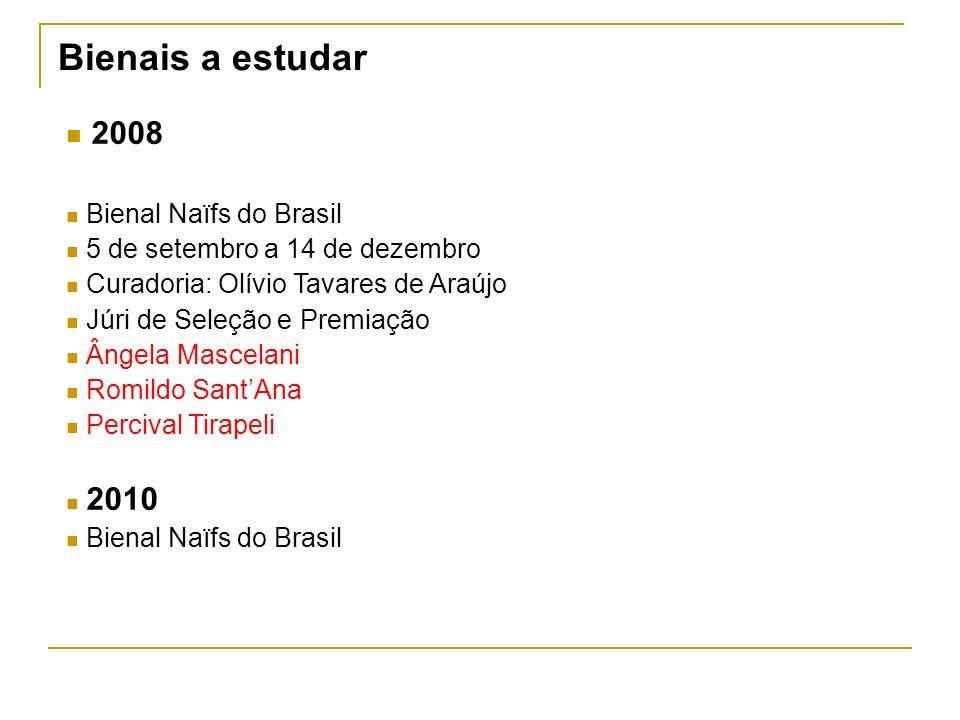 Bienais a estudar 2008 Bienal Naïfs do Brasil