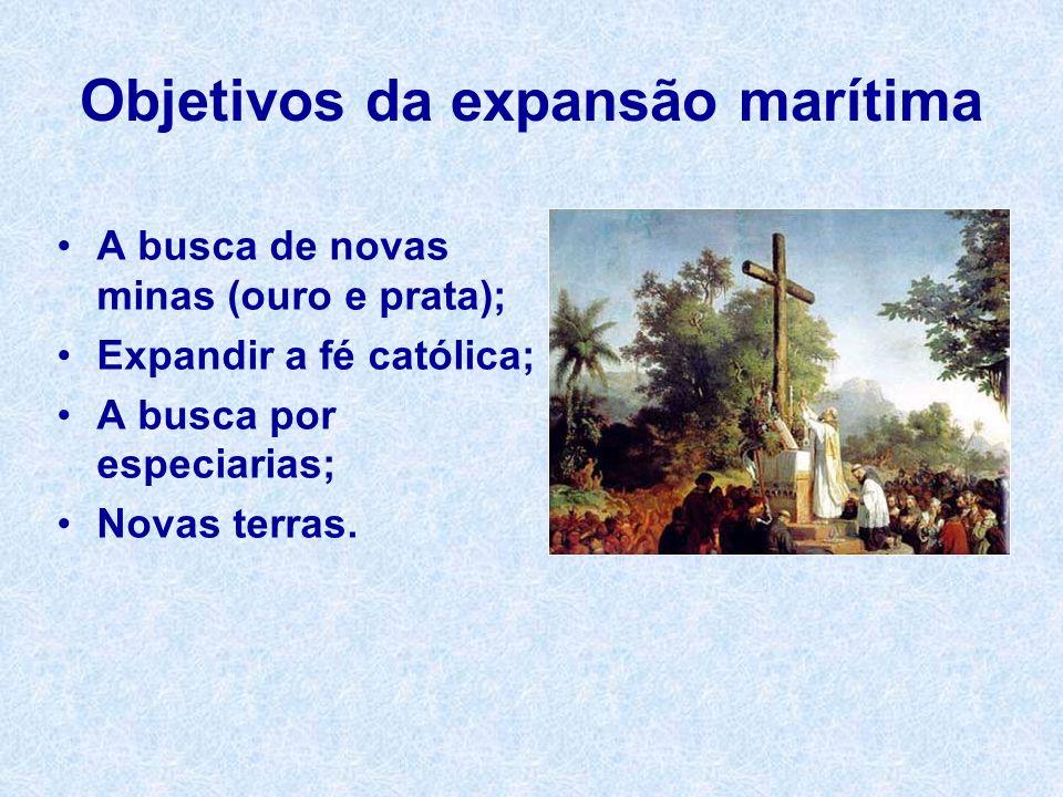 Objetivos da expansão marítima