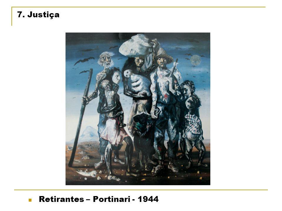 7. Justiça Retirantes – Portinari - 1944