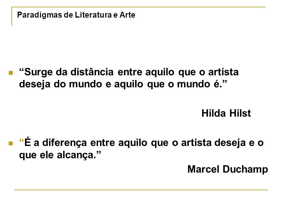 Paradigmas de Literatura e Arte