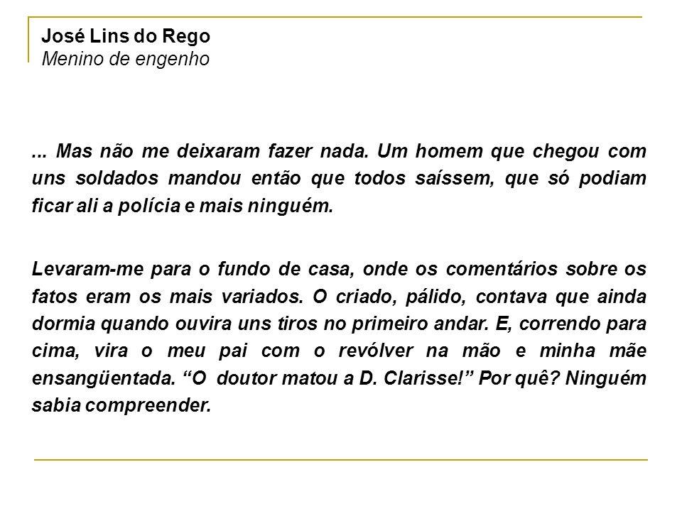 José Lins do Rego Menino de engenho