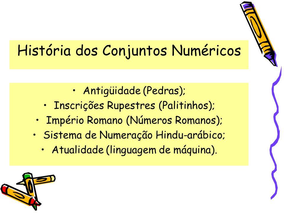 História dos Conjuntos Numéricos