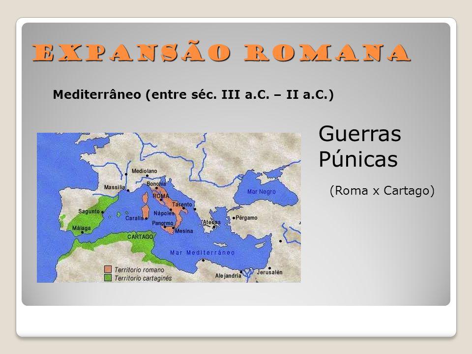 Expansão Romana Guerras Púnicas