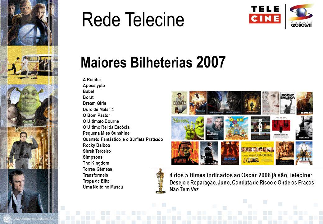 Rede Telecine Maiores Bilheterias 2007