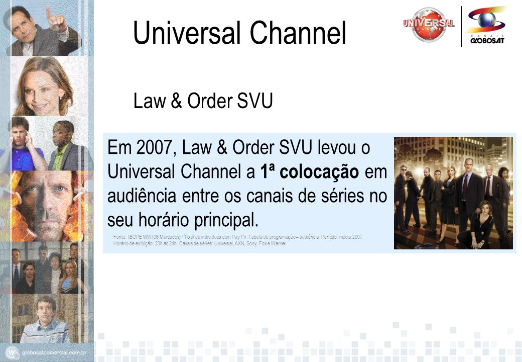 Universal Channel Law & Order SVU