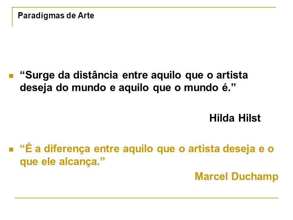 É a diferença entre aquilo que o artista deseja e o que ele alcança.
