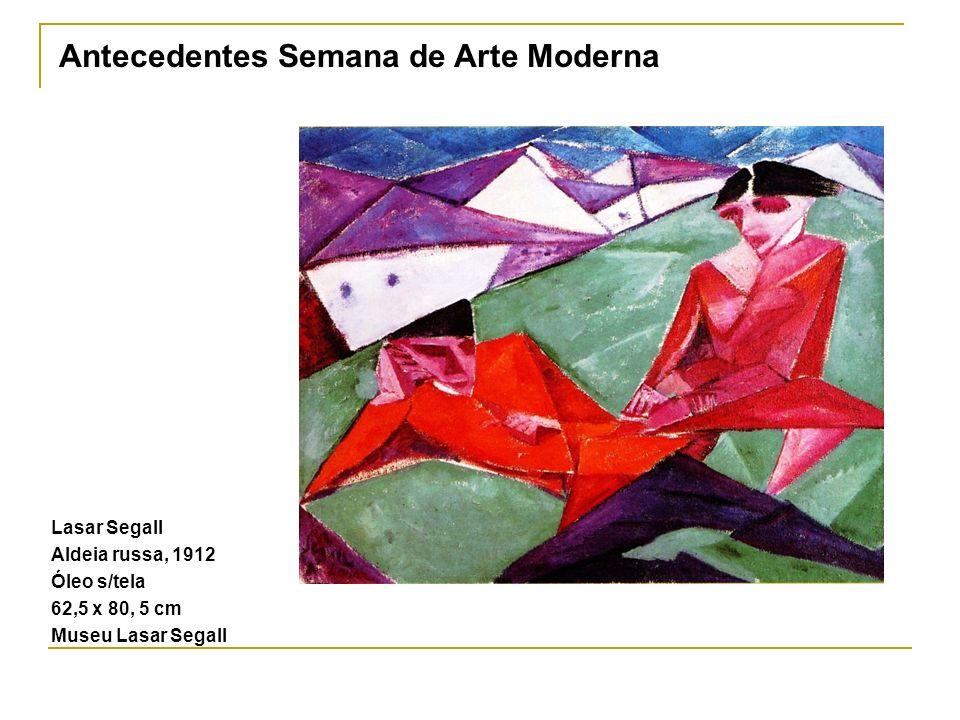 Antecedentes Semana de Arte Moderna