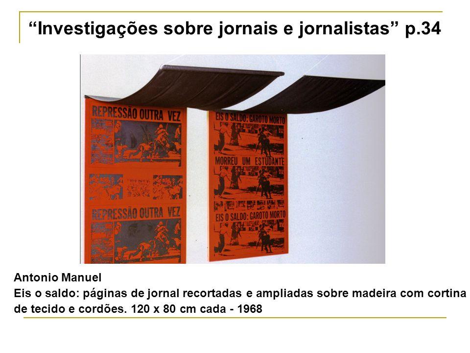 Investigações sobre jornais e jornalistas p.34