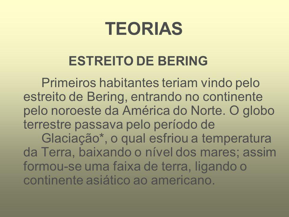 TEORIAS ESTREITO DE BERING