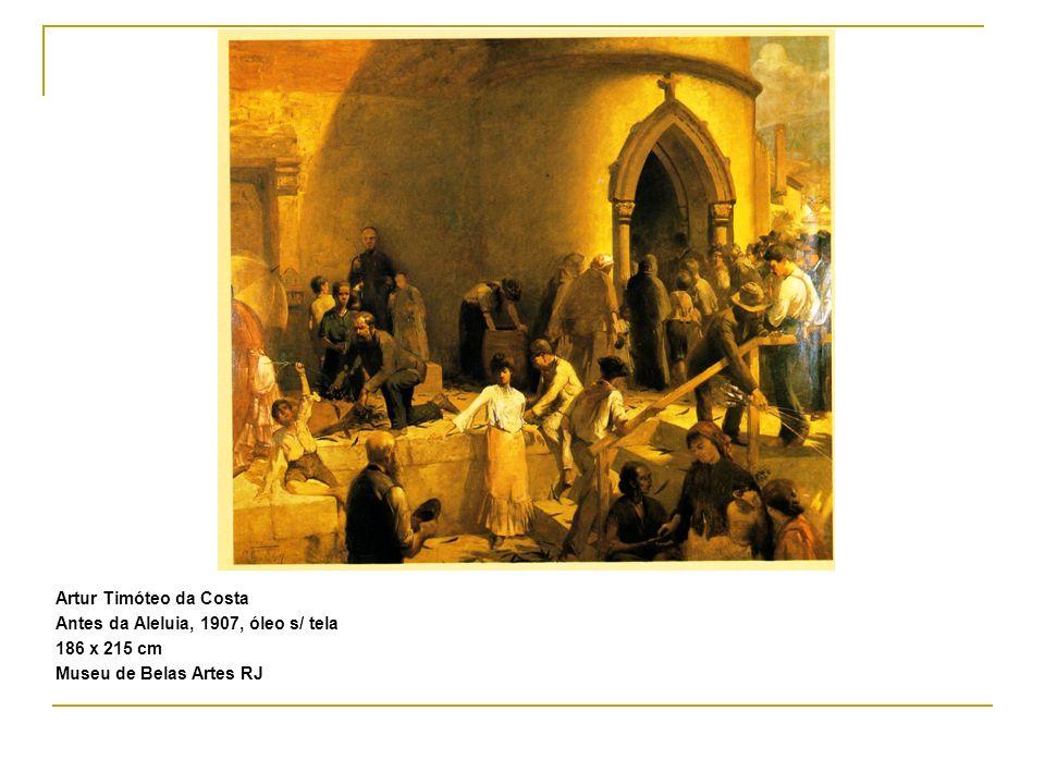 Artur Timóteo da Costa Antes da Aleluia, 1907, óleo s/ tela 186 x 215 cm Museu de Belas Artes RJ