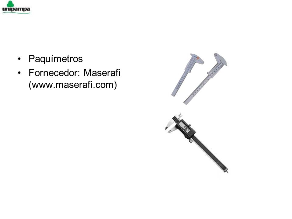 Paquímetros Fornecedor: Maserafi (www.maserafi.com)