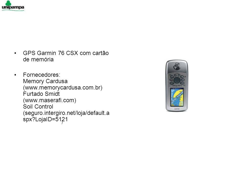 GPS Garmin 76 CSX com cartão de memória