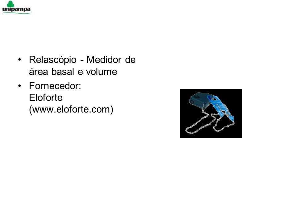 Relascópio - Medidor de área basal e volume