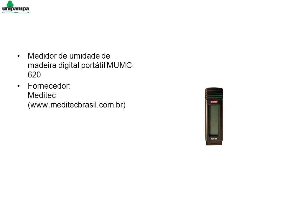 Medidor de umidade de madeira digital portátil MUMC-620