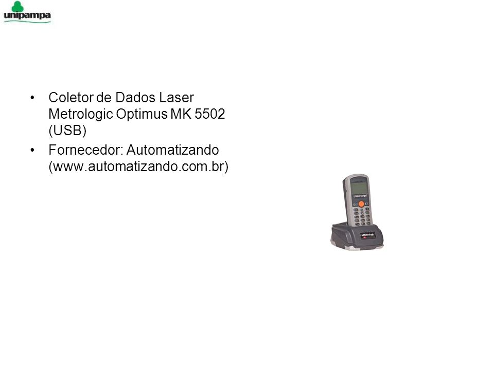 Coletor de Dados Laser Metrologic Optimus MK 5502 (USB)