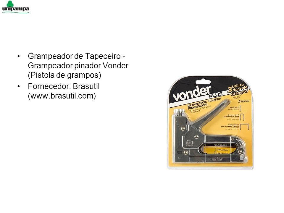Grampeador de Tapeceiro - Grampeador pinador Vonder (Pistola de grampos)