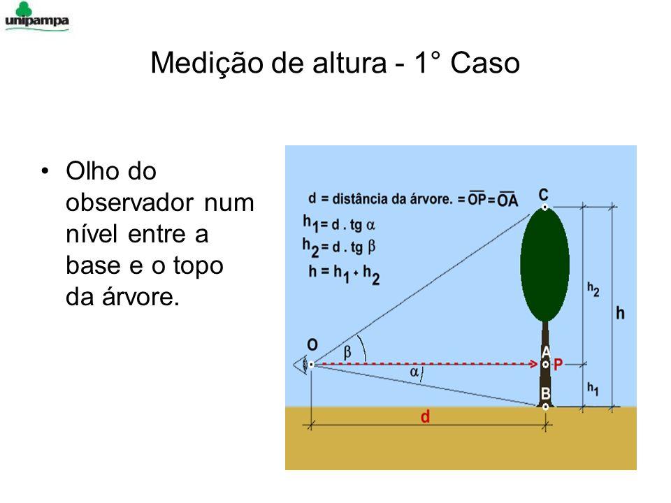 Medição de altura - 1° Caso