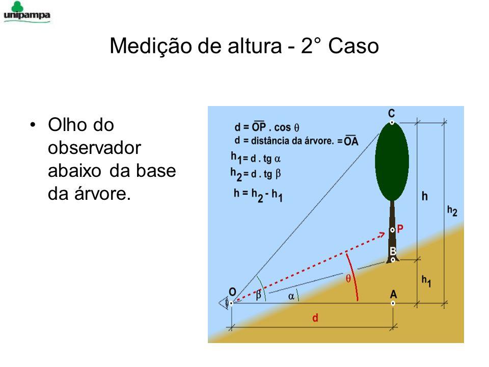 Medição de altura - 2° Caso