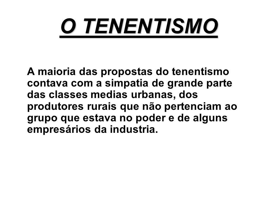 O TENENTISMO
