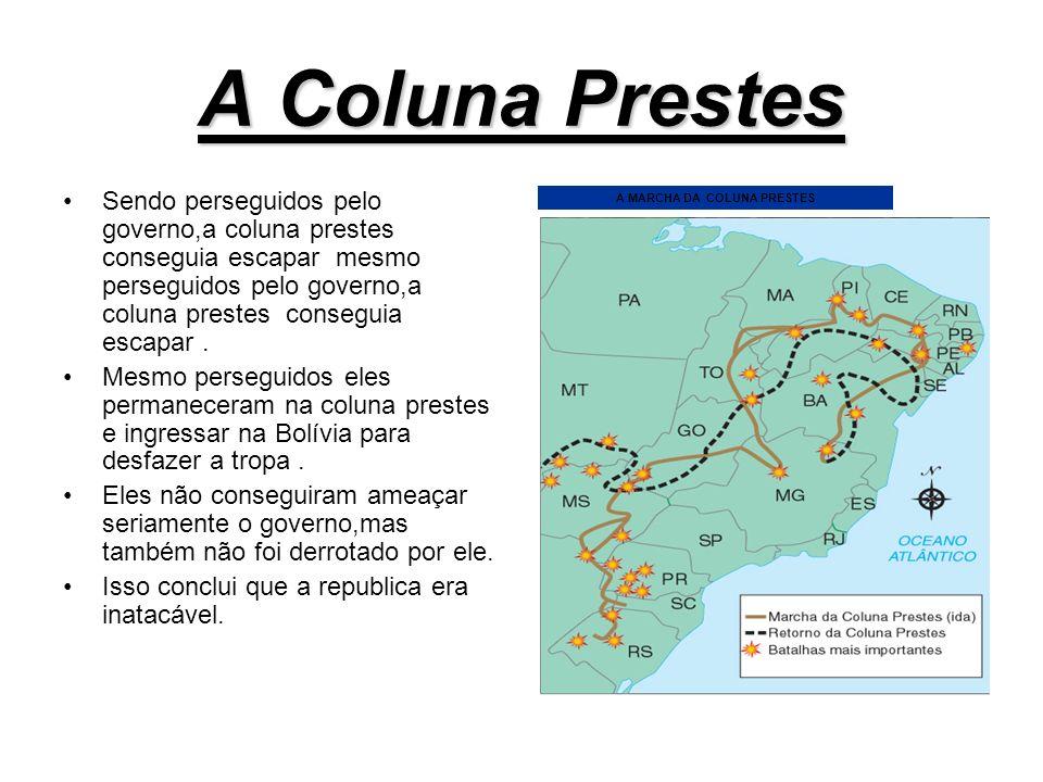 A MARCHA DA COLUNA PRESTES