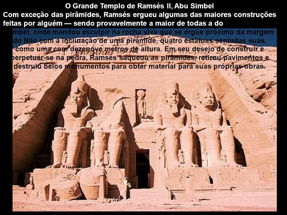 O Grande Templo de Ramsés II, Abu Simbel