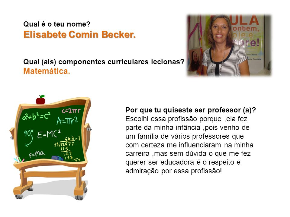 Elisabete Comin Becker.