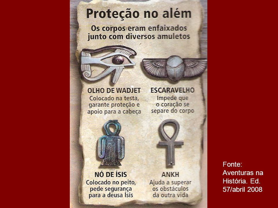Fonte: Aventuras na História. Ed. 57/abril 2008