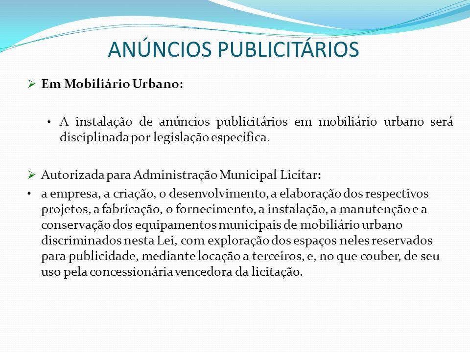 ANÚNCIOS PUBLICITÁRIOS