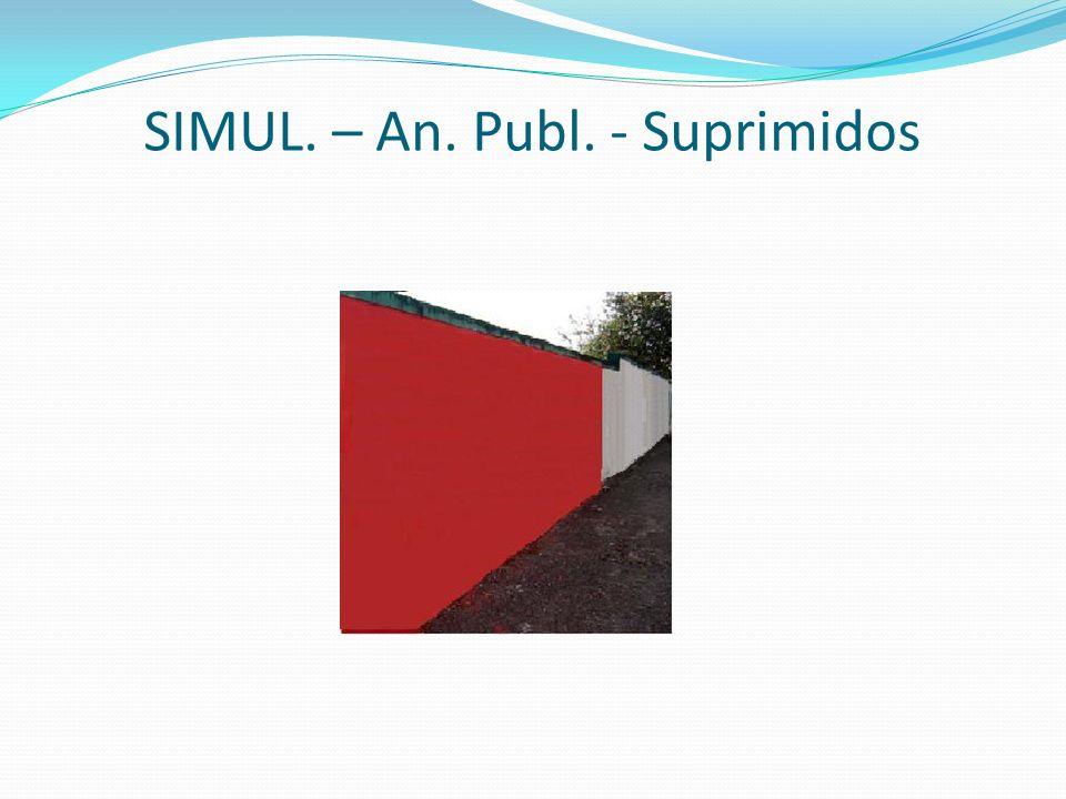 SIMUL. – An. Publ. - Suprimidos