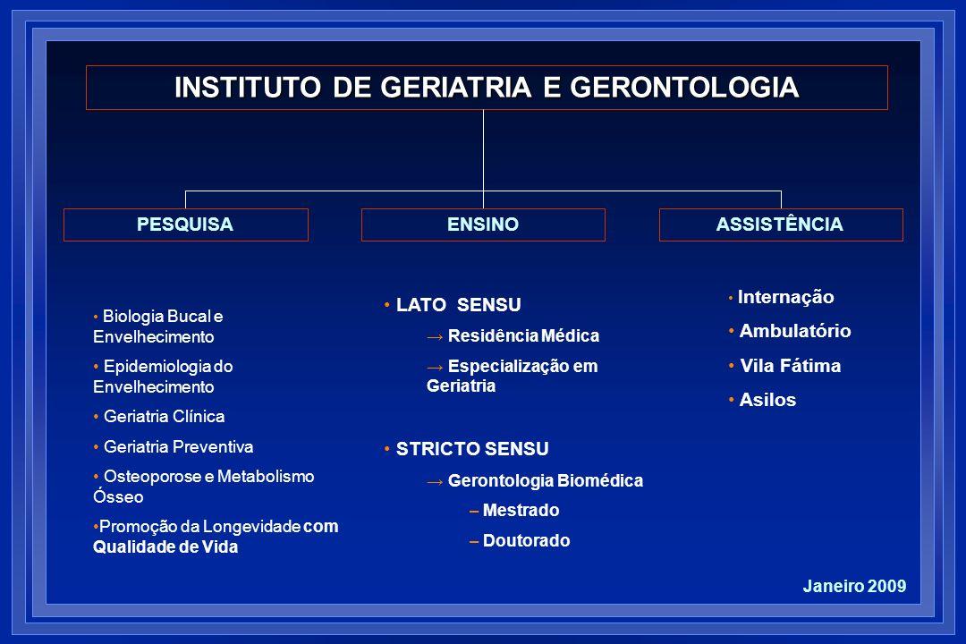 INSTITUTO DE GERIATRIA E GERONTOLOGIA
