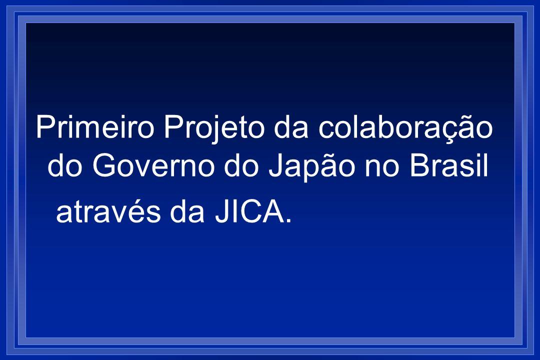 Primeiro Projeto da colaboração do Governo do Japão no Brasil