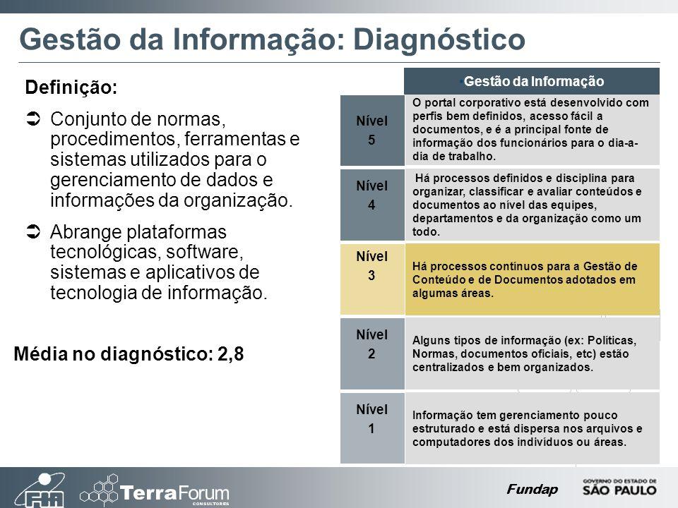 Gestão da Informação: Diagnóstico