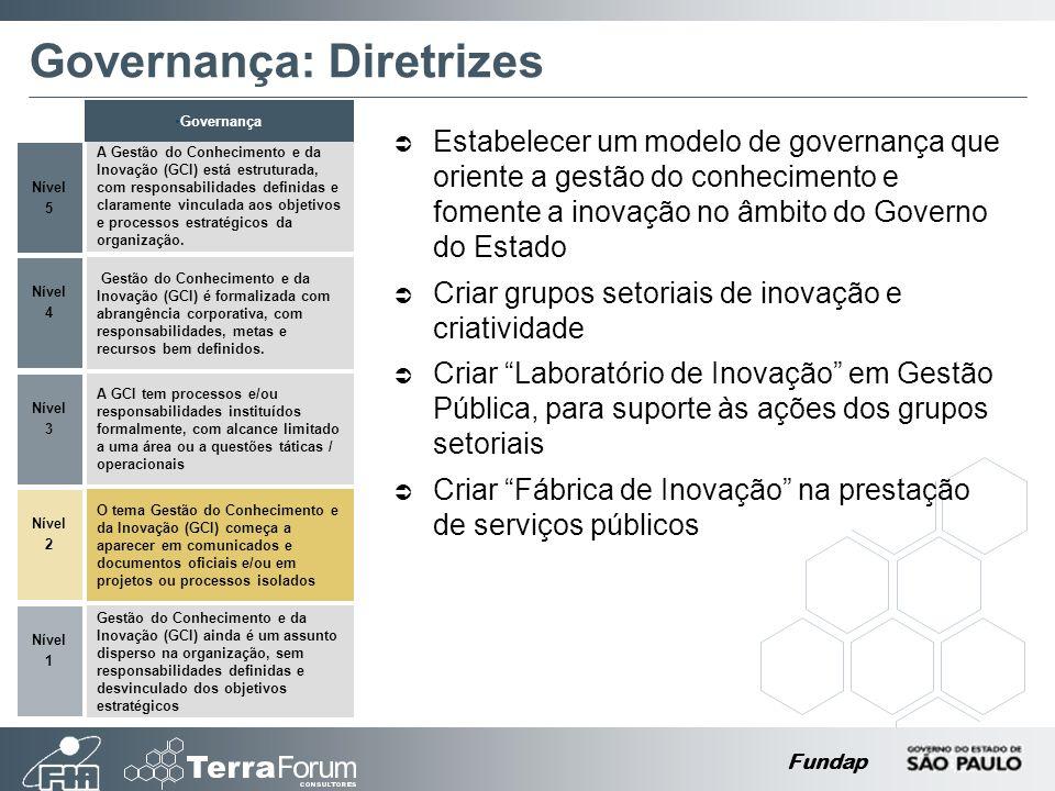 Governança: Diretrizes