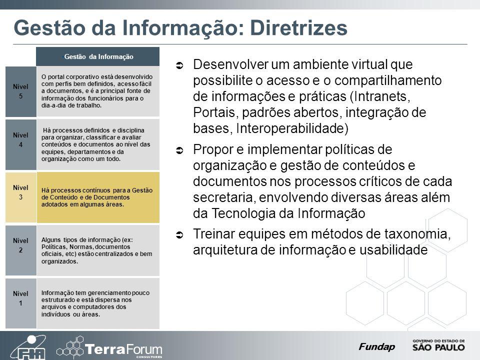 Gestão da Informação: Diretrizes