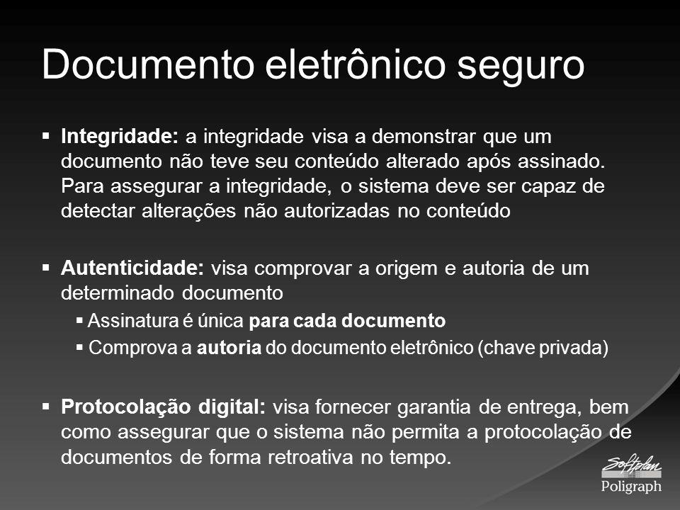 Documento eletrônico seguro