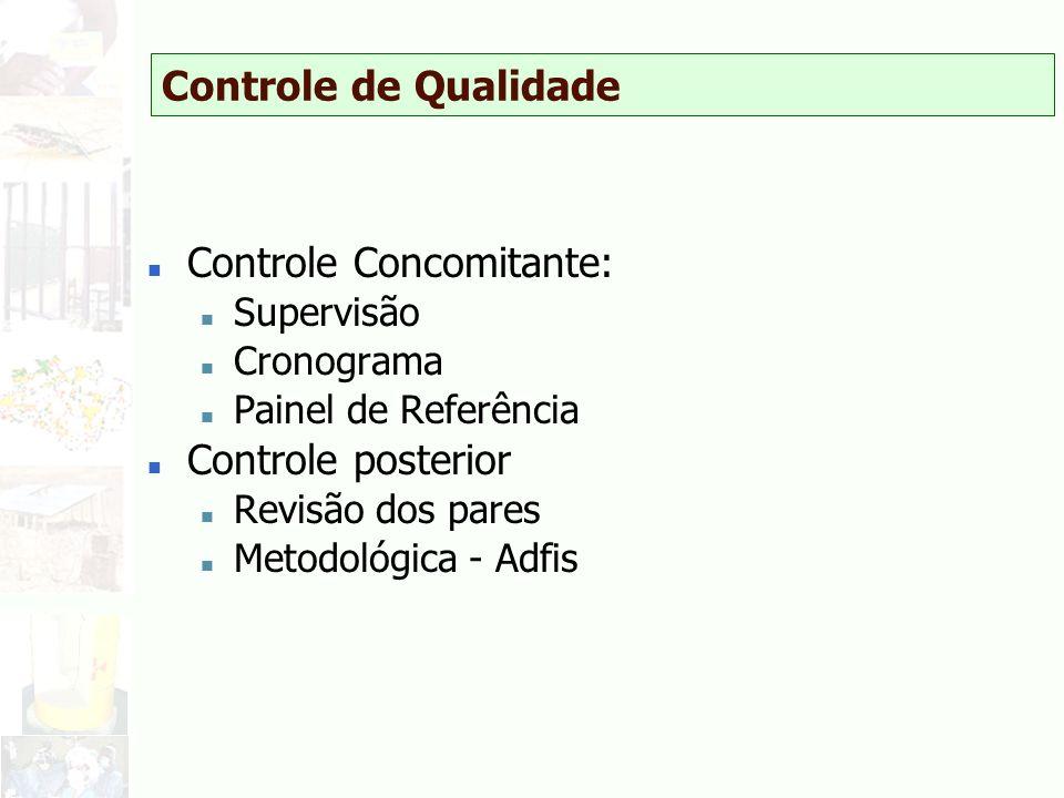 Controle Concomitante: