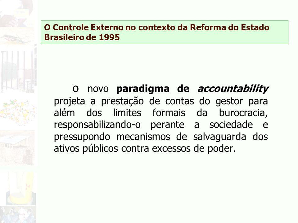 O Controle Externo no contexto da Reforma do Estado Brasileiro de 1995