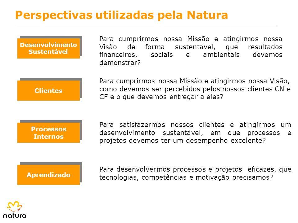 Perspectivas utilizadas pela Natura