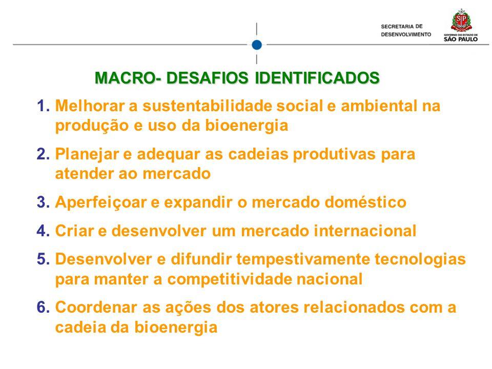 MACRO- DESAFIOS IDENTIFICADOS