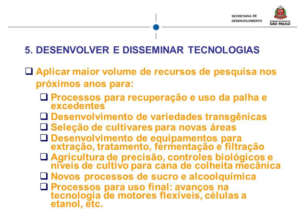 DESENVOLVER E DISSEMINAR TECNOLOGIAS