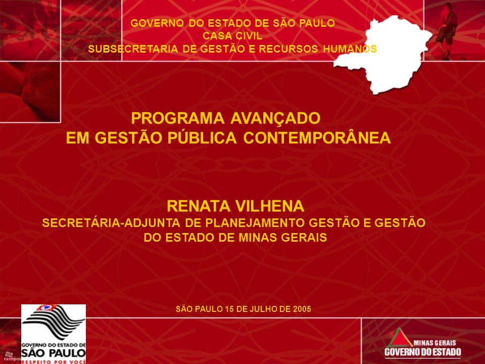 PROGRAMA AVANÇADO EM GESTÃO PÚBLICA CONTEMPORÂNEA RENATA VILHENA