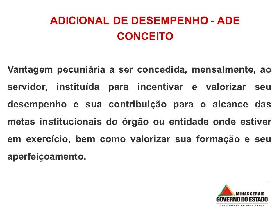 ADICIONAL DE DESEMPENHO - ADE