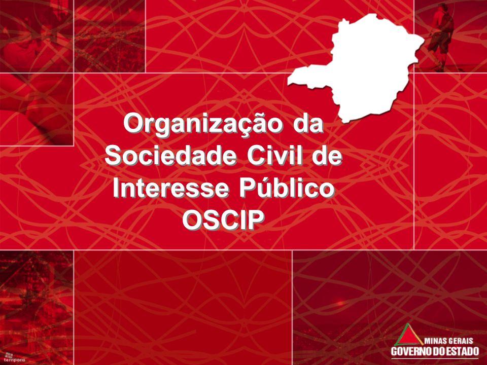 Organização da Sociedade Civil de Interesse Público OSCIP