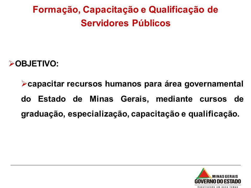Formação, Capacitação e Qualificação de Servidores Públicos